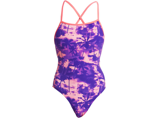 Funkita Strapped In One Piece Swimsuit Dames, eternal summer